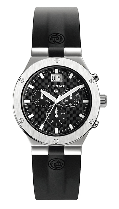 Bruat LB 40 Scaphandre Chronograph Large Carbon