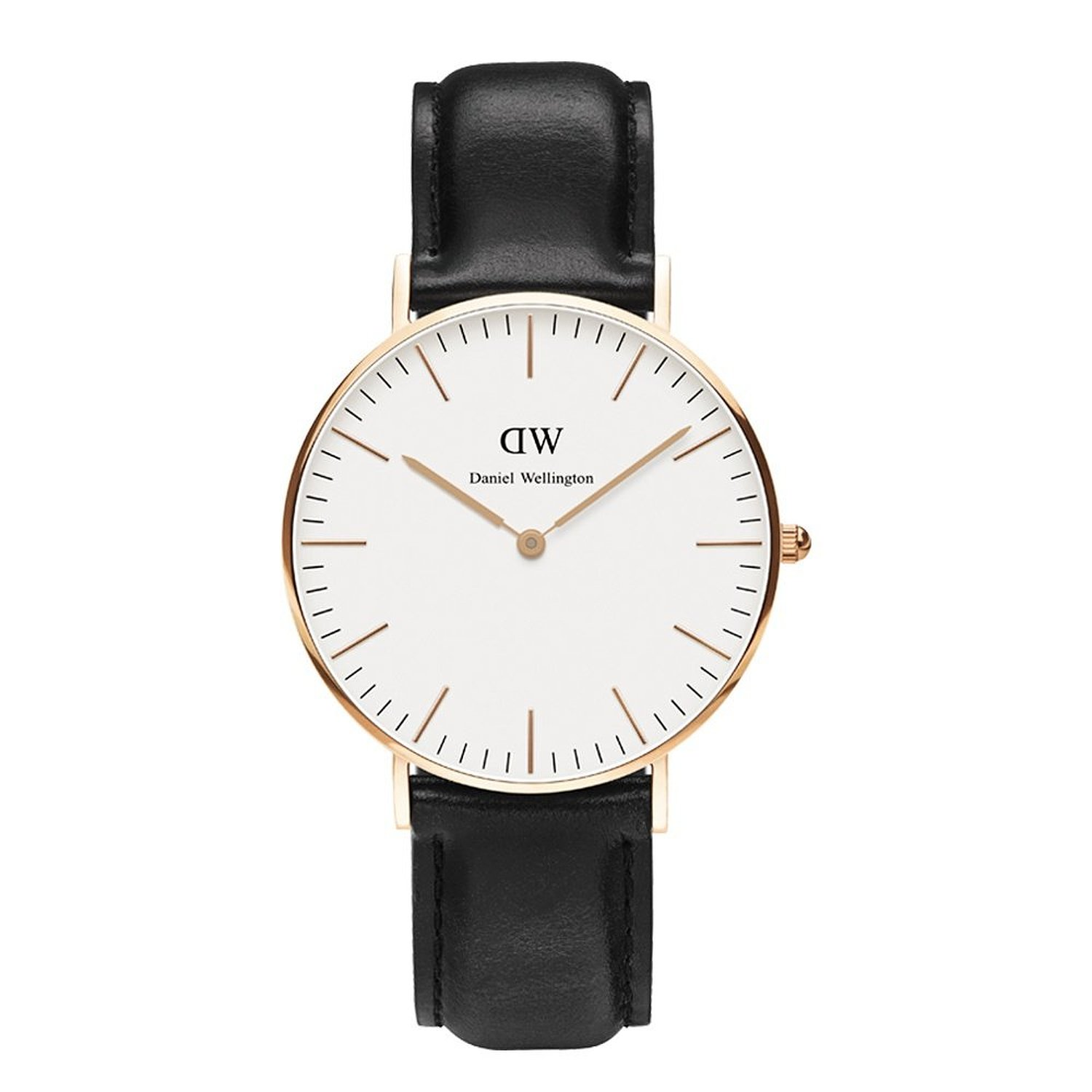 Daniel Wellington Classic Sheffield rose gold pvd 36mm.